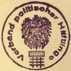 Verband politischer Häftlinge Rundstempel 1946
